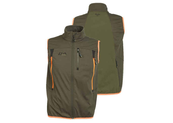 Gilet-Utah-Man-Vest-Zotta-Forest-verde-arancio